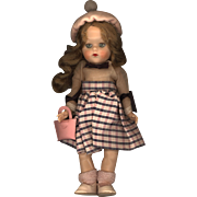 Hard Plastic Andrea Doll  all Original by Stashin Doll Company