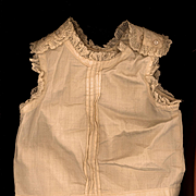 Antique Doll Camisole in Eggshell Cotton