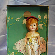 Hard Plastic Starlet Walker Doll in Original Box