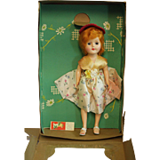 Hard Plastic Starlet Walker Doll in Original Box