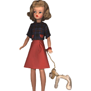Ideal Tammy in Walking Her Pet Fashion