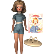 Ideal Tammy in Original Playsuit with Booklet and Stand