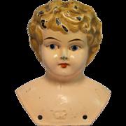 Antique Metal Juno Doll Head