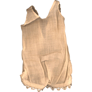 Vintage Eggshell Cotton Doll Camisole/Slip
