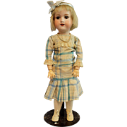 German Bisque Armand Marseille Rare Teen Flapper Doll