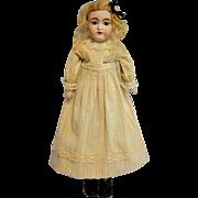 Antique Bisque Kestner 145 in Antique Stripe Dress