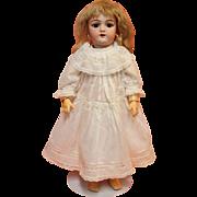 Antique White Cotton Doll Dress