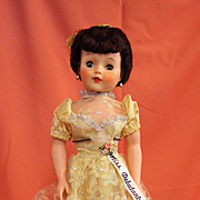 Vintage Vinyl 1950's  Miss Debutante  All Original
