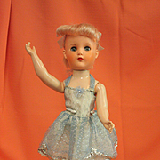 1950's Ballerina Doll with Pink Hair by Valentine Dolls