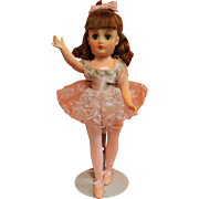 Vintage Cindy Ballerina by Horsman in Her Original Clothes