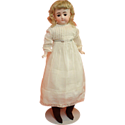 Antique Bisque Closed Mouth Kestner Child Doll