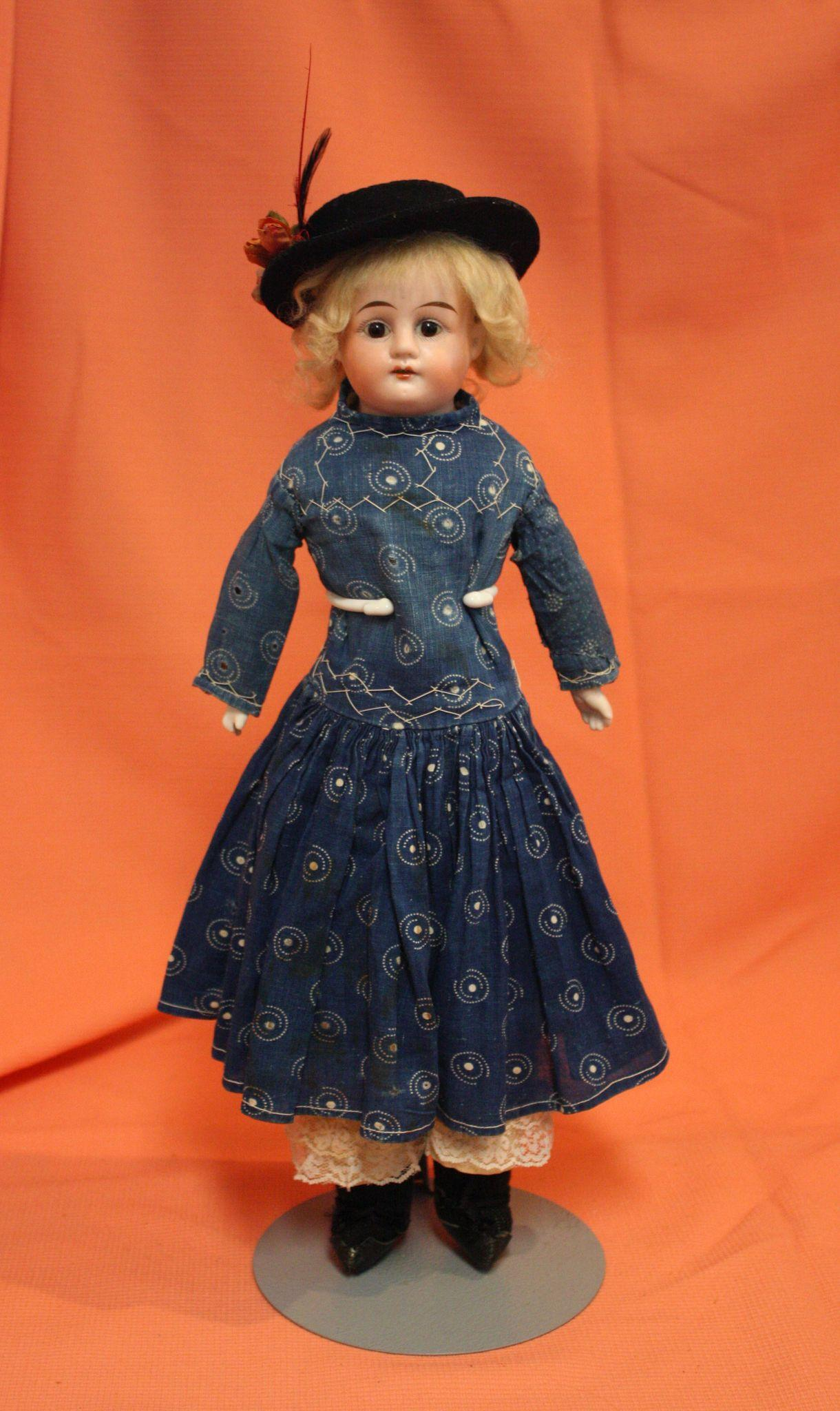 Antique Bisque Ernst Heubach in Antique Dress
