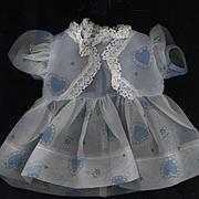 Vintage Nylon Baby Dress for Tiny Tears