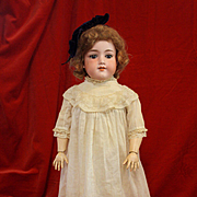 Antique Bisque Armand Marseille 390 in Antique Dress