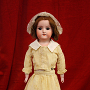 Antique Bisque Armand Marseille 370 in Antique Dress