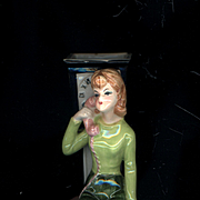 Enesco  Teen Girl on Telephone  Figurine