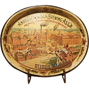 Anheuser Busch Beer Tray 1974
