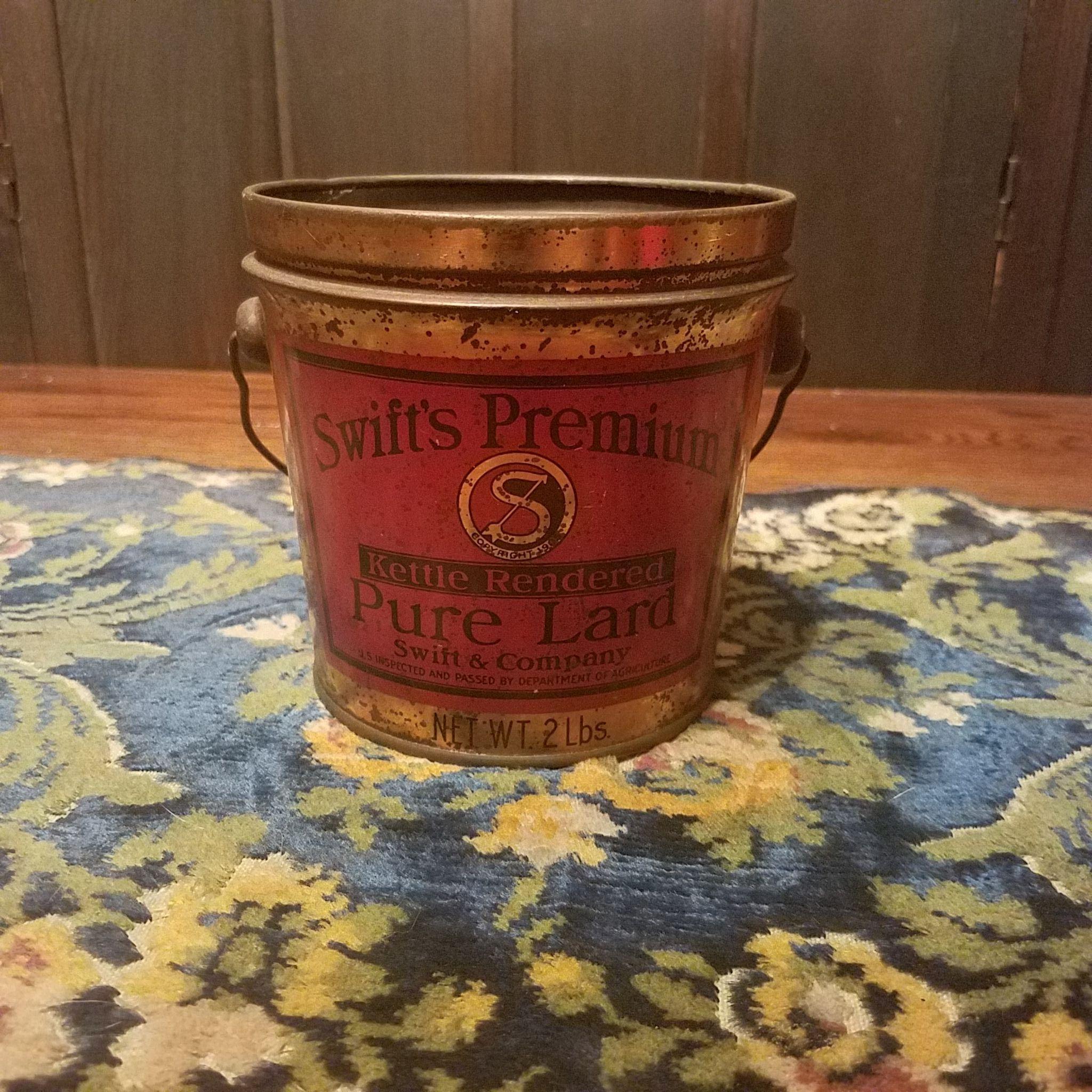 Swift Premium Lard Pail