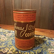 Thomas J Webb Coffee Tin