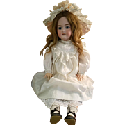 Large Antique Bisque Armand Marseille Child Doll