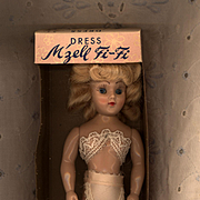 Hard Plastic  M'zell Fi-Fi  Dress Me Doll  in Box by Duchess Doll
