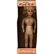 Hard Plastic  M'zell Fi-Fi  Dress Me Doll  in Box by Duchess Doll