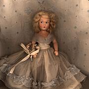 Hard Plastic Early Painted Eye Dress Me Doll