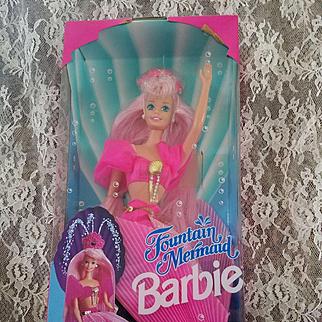Fountain Mermaid Barbie in Original Box 1993