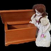 Vintage Toncoss Dollhouse Cedar Chest