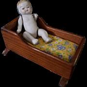 Vintage Toncoss Dollhouse Cradle