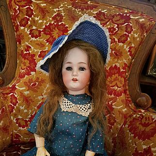 Antique Bisque Huebach Kopplesdorf #250 in Antique Dress