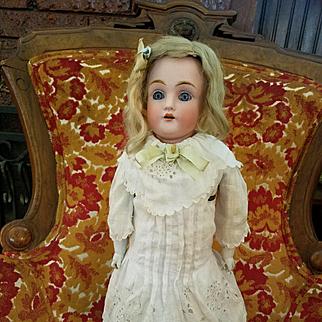 Antique Bisque Kestner 154 in Antique Dress