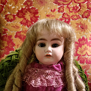 Vintage Synthetic Blond Doll Wig
