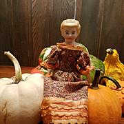 Antique Blond China Head Doll