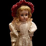 Antique Bisque #166 Kestner in Antique Dress