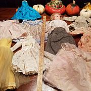Group of Vintage Doll Dresses