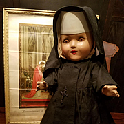 Composition Nun Doll Original Clothes