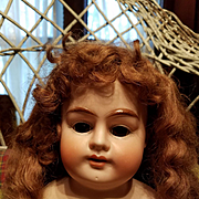 Antique Bisque Alma Doll Head