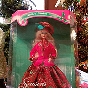 Season's Greetings Barbie 1994