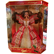 Happy Holiday Barbie 1997
