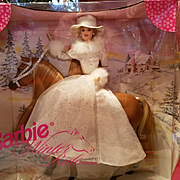 Vintage Barbie Gift Set  Winter Ride