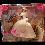 Vintage Barbie Gift Set  Winter Ride