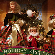 Holiday Sisters  Barbie Kelly and Stacie