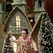 Vintage Miniature Bisque Dollhouse Doll