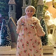 Antique Blond Bisque Child Doll
