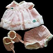 Pink Frill  Tiny Chatty Baby Fashion