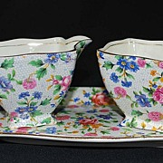 Royal Winton Chintz, Old Cottage Set, Vintage