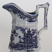 Mulberry China Small Cream Pitcher, Antique