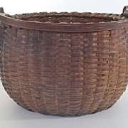 Antique Swing Handle Basket, Taconic