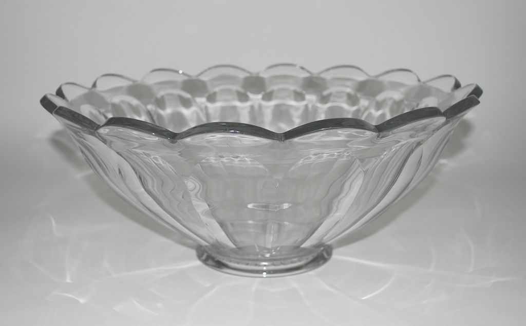 "Heisey ""Colonial"" Punch Bowl, Vintage"